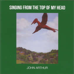 Singing from the top of my head